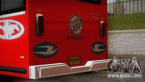 Dodge 300 Microbus para GTA San Andreas vista hacia atrás