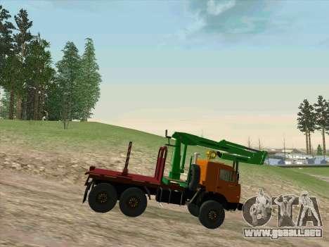 KamAZ 44108 Madera para la visión correcta GTA San Andreas