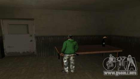 El Nuevo Cóctel Molotov para GTA San Andreas segunda pantalla