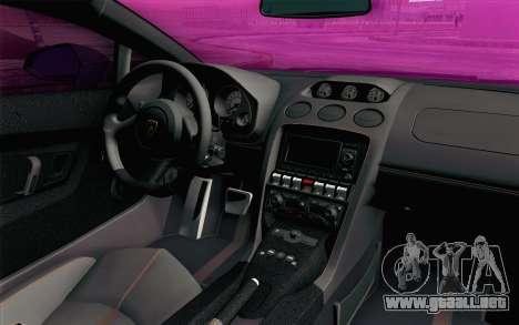Lamborghini Gallardo LP570-4 Superleggera 2011 para la visión correcta GTA San Andreas
