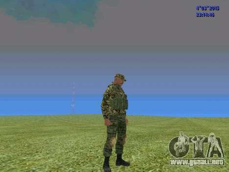 Soldado del batallón de Somalia para GTA San Andreas tercera pantalla