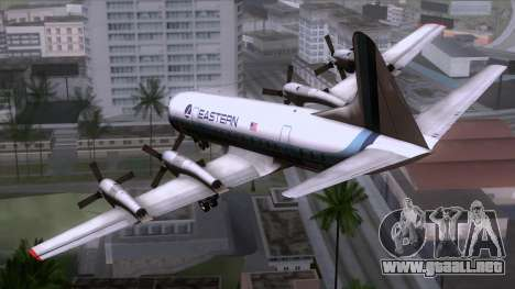 L-188 Electra Eastern Als para GTA San Andreas left