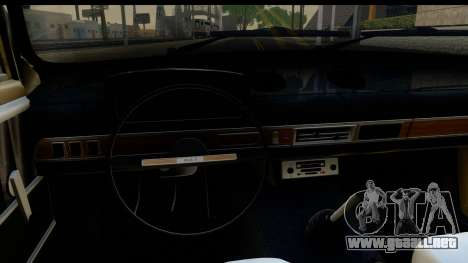 VAZ 2101 Stock v3.2 para visión interna GTA San Andreas