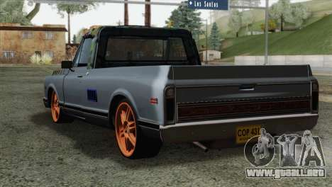 Chevrolet C10 1972 para GTA San Andreas left