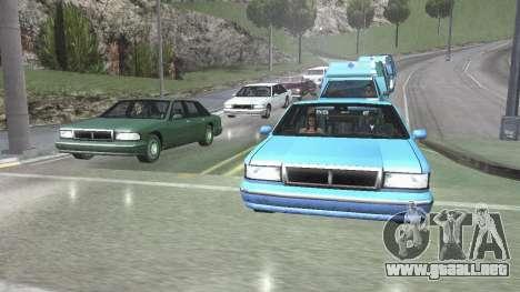 Carretera Reflexiones Fix 1.0 для GTA San Andrea para GTA San Andreas
