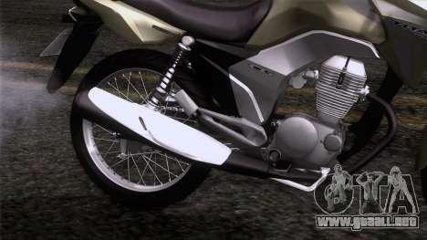 Honda CG Titan 150 2014 para GTA San Andreas vista hacia atrás
