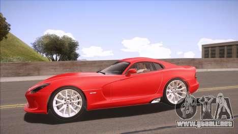 ENB Sunreal para GTA San Andreas sucesivamente de pantalla