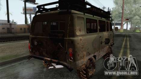 UAZ 2206 Pan para GTA San Andreas left