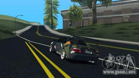 Toyota Chaser Tourer V Fail Crew para la visión correcta GTA San Andreas