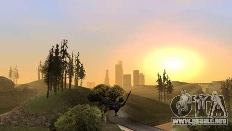 La posibilidad de GTA V para jugar a los pájaros para GTA San Andreas séptima pantalla