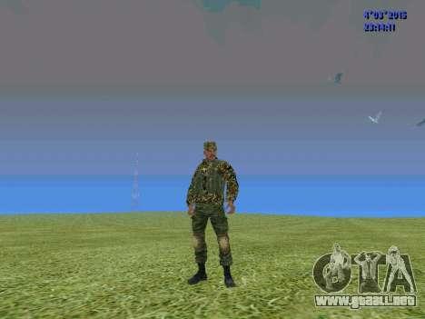 Soldado del batallón de Somalia para GTA San Andreas segunda pantalla