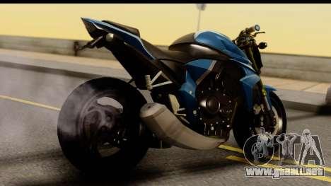 Honda CB1000R v2.0 para GTA San Andreas left