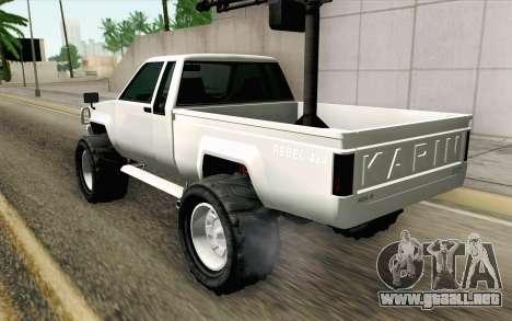Technical from GTA 5 para GTA San Andreas left
