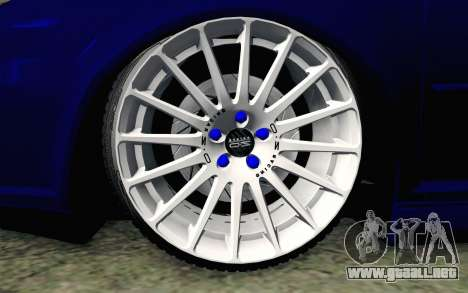 Volkswagen Golf Mk4 R32 Stance v2.0 para GTA San Andreas vista posterior izquierda