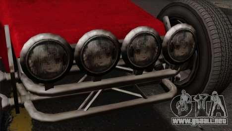 GTA 5 Dune Buggy SA Mobile para GTA San Andreas vista hacia atrás