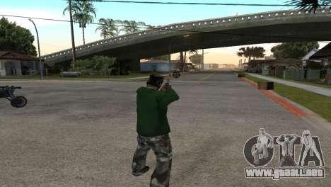 Black Deagle para GTA San Andreas tercera pantalla