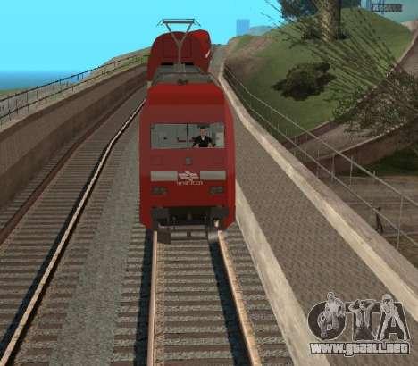 Israeli Train para la visión correcta GTA San Andreas