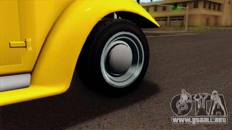 GTA 5 Bravado Rat-Truck para GTA San Andreas vista posterior izquierda