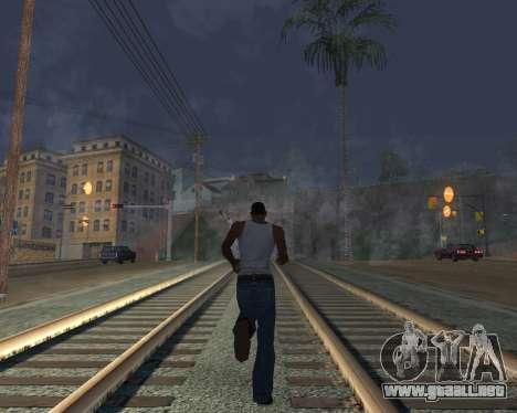 GTA 5 Timecyc v2 para GTA San Andreas quinta pantalla