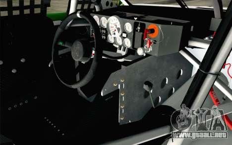 NASCAR Chevrolet SS 2013 v4 para la visión correcta GTA San Andreas
