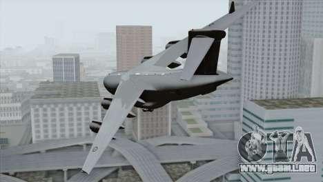 C-17A Globemaster III RAF para GTA San Andreas left