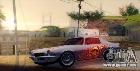 Pierce The Veil ENB para GTA San Andreas sucesivamente de pantalla