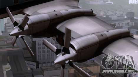 L-188 Electra Eastern Als para la visión correcta GTA San Andreas