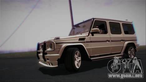 Mercedes-Benz G65 2013 AMG Body para GTA San Andreas left