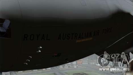C-17A Globemaster III RAF para la visión correcta GTA San Andreas