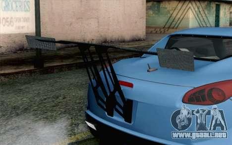 Pontiac Solstice para GTA San Andreas vista hacia atrás