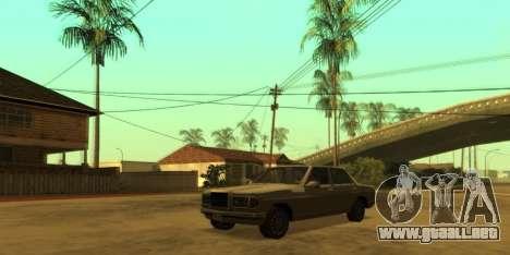 SkyGFX v1.3 para GTA San Andreas tercera pantalla