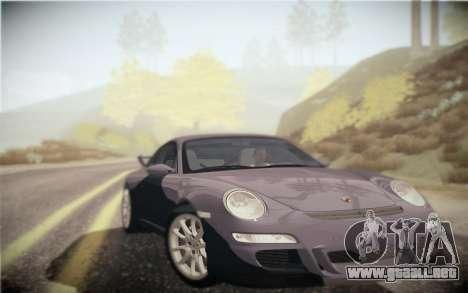 ENB por medio de la PC para GTA San Andreas quinta pantalla