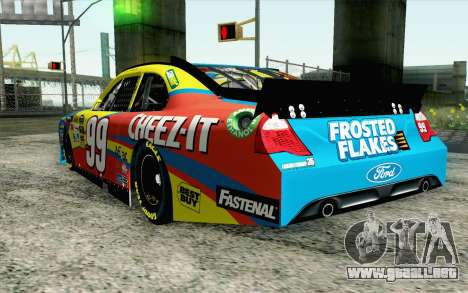 NASCAR Ford Fusion 2012 Short Track para GTA San Andreas left