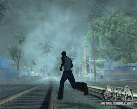 GTA 5 Timecyc v2 para GTA San Andreas sucesivamente de pantalla