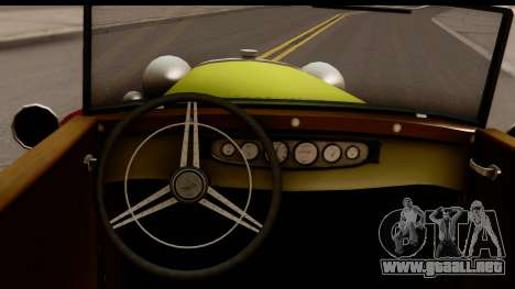 Ford A 1928 para visión interna GTA San Andreas