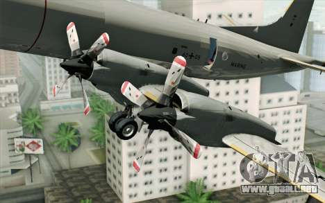 Lockheed P-3 Orion German Navy para la visión correcta GTA San Andreas