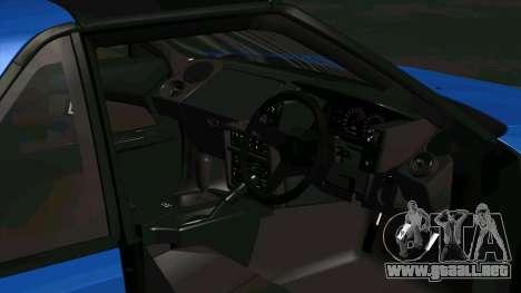 Toyota MR2 1600 G-Limited (AW11) para GTA San Andreas vista hacia atrás