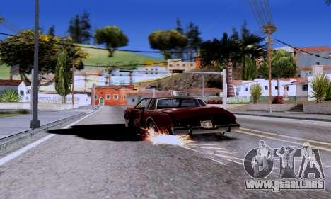 ENB Series EvoGraphics v 1.0 para GTA San Andreas segunda pantalla