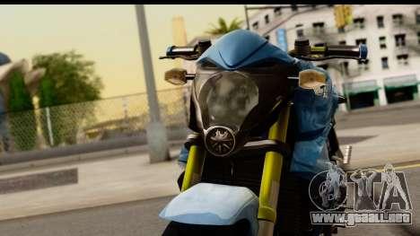 Honda CB1000R v2.0 para GTA San Andreas vista hacia atrás