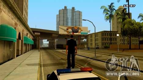 ColorMod by PhenomX3M v.3 para GTA San Andreas tercera pantalla