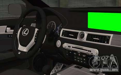 Lexus GS 300 para la visión correcta GTA San Andreas