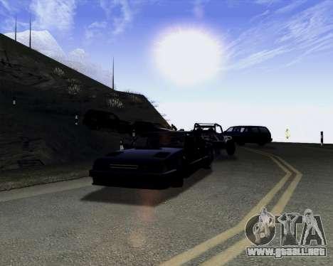 LineFlex ENBseries para GTA San Andreas tercera pantalla