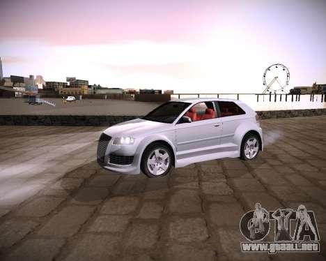 Extreme ENBSeries para GTA San Andreas sucesivamente de pantalla