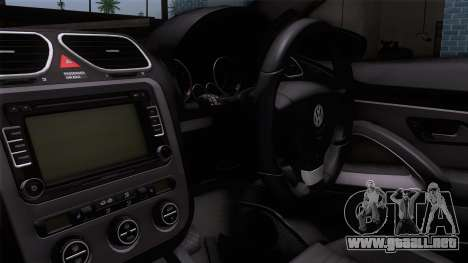 Volkswagen Scirocco GT 2009 para la visión correcta GTA San Andreas