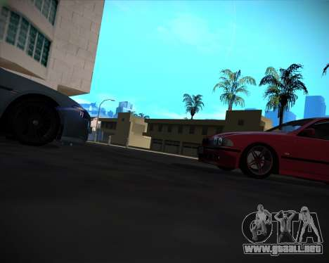BMW 5-series E39 Vossen para las ruedas de GTA San Andreas