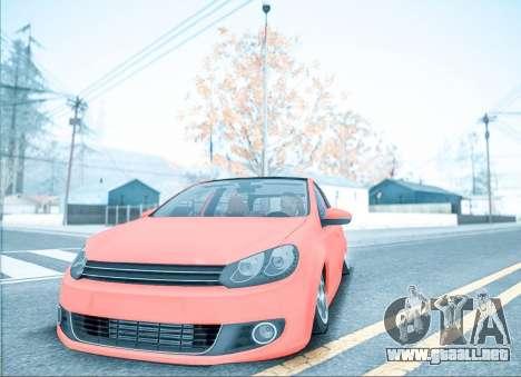 ENB por medio de la PC para GTA San Andreas sucesivamente de pantalla