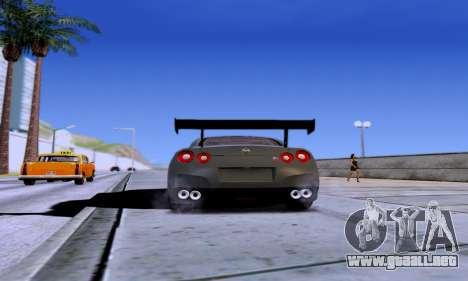 ENB Series EvoGraphics v 1.0 para GTA San Andreas sucesivamente de pantalla