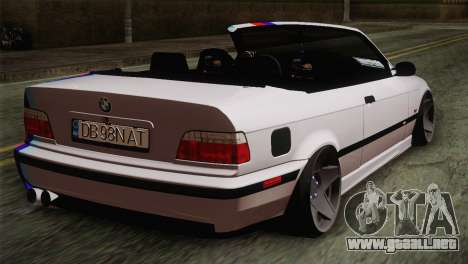 BMW E36 M3 Cabrio para GTA San Andreas left