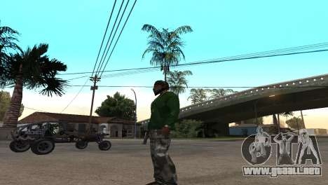 Black Deagle para GTA San Andreas segunda pantalla