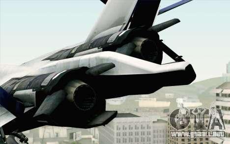 CFA-44 Butterfly Master para la visión correcta GTA San Andreas